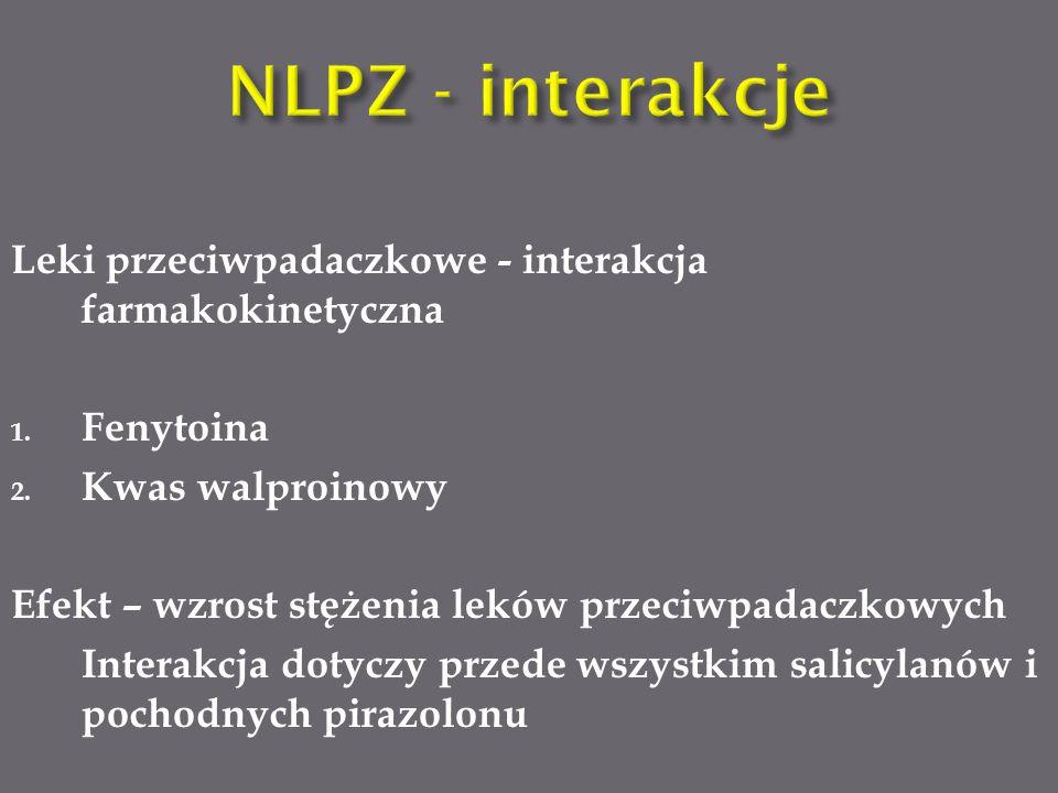 Leki przeciwpadaczkowe - interakcja farmakokinetyczna 1.