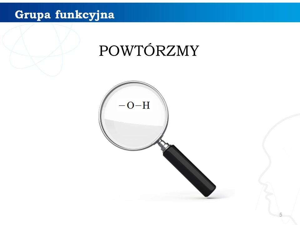 16 1234 Nazewnictwo alkoholi 5 Podaj nazwę systematyczną alkoholu Przykład pentan-2- ol