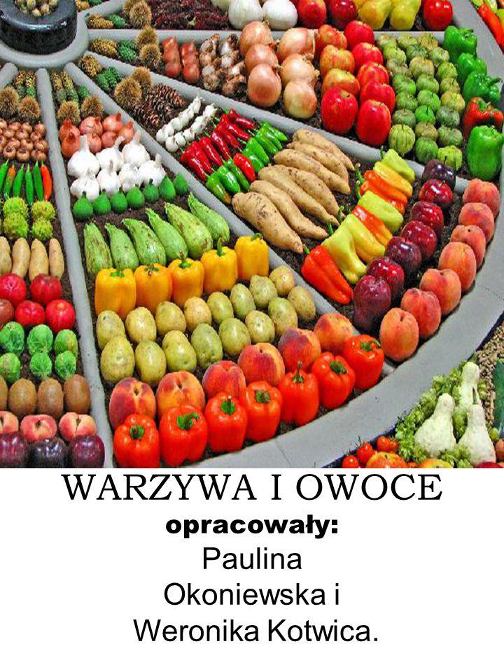 Warzywa i owoce odgrywają ważną rolę w życiu człowieka.