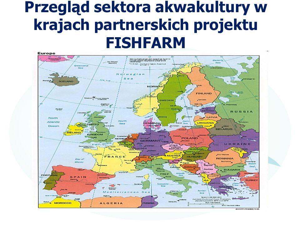Przegląd sektora akwakultury w krajach partnerskich projektu FISHFARM