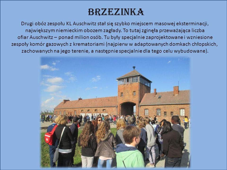 BRZEZINKA Drugi obóz zespołu KL Auschwitz stał się szybko miejscem masowej eksterminacji, największym niemieckim obozem zagłady.