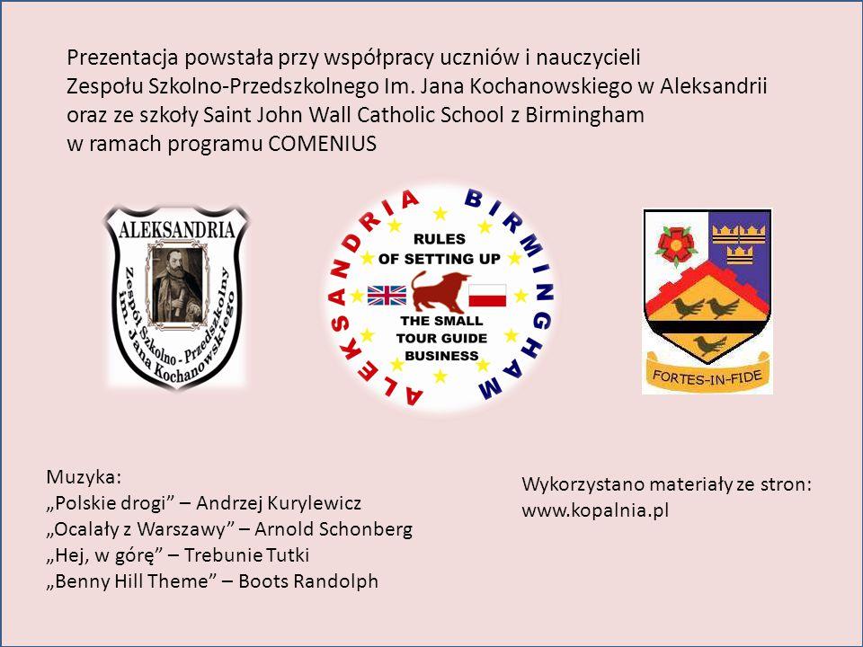 Prezentacja powstała przy współpracy uczniów i nauczycieli Zespołu Szkolno-Przedszkolnego Im.