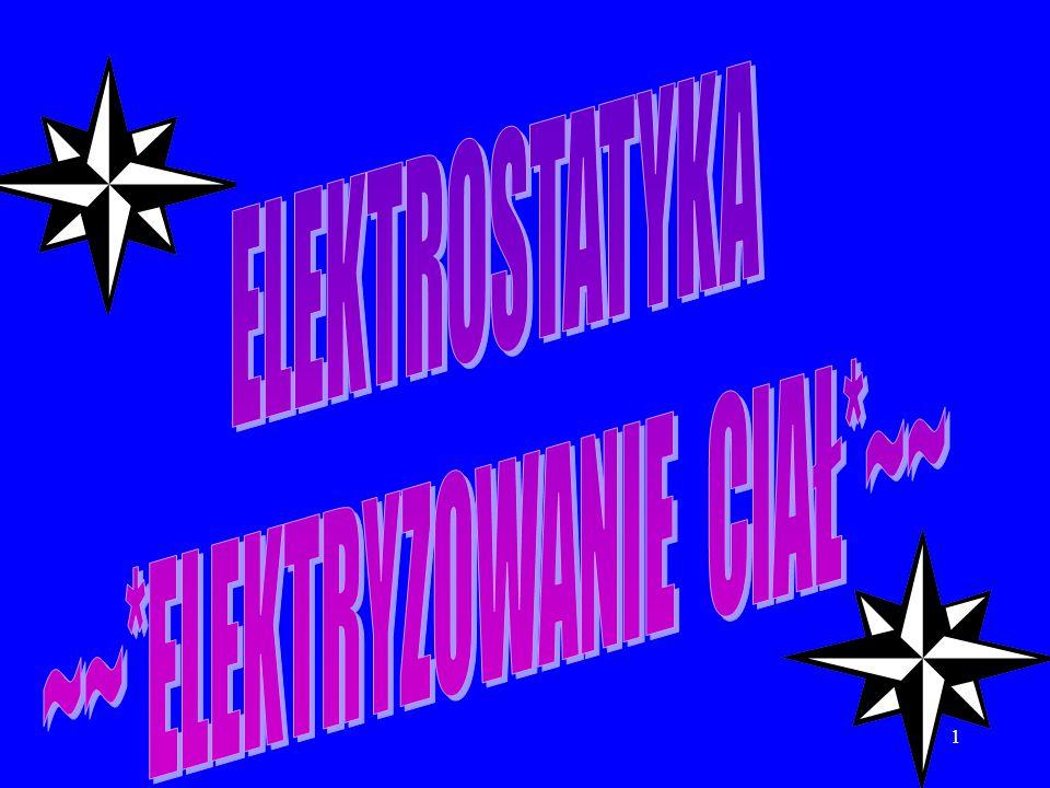 12 Elektryzowanie ciał.ale już nie tak niebezpiecznym,jest jonizacja powietrza przez telewizory i ekrany komputerów.