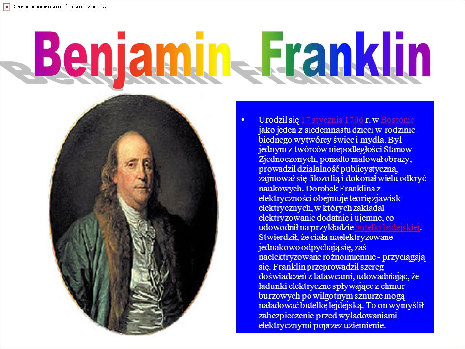 6 Urodził się 17 stycznia 1706 r.