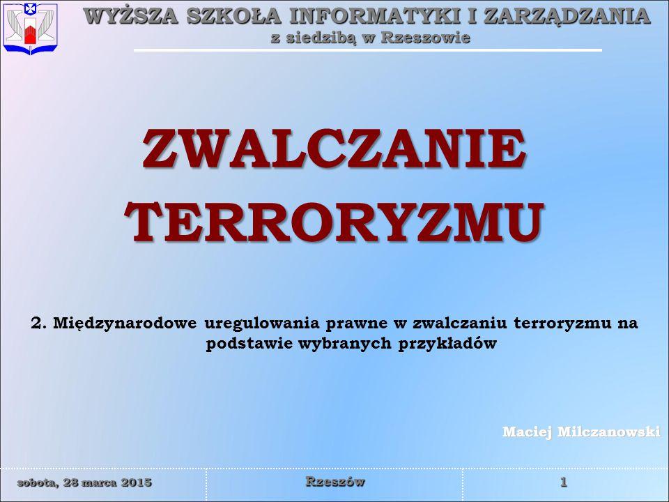 WYŻSZA SZKOŁA INFORMATYKI I ZARZĄDZANIA z siedzibą w Rzeszowie 12 sobota, 28 marca 2015sobota, 28 marca 2015sobota, 28 marca 2015sobota, 28 marca 2015 Rzeszów Na szczycie Sojuszu w Stambule w 2004 r.