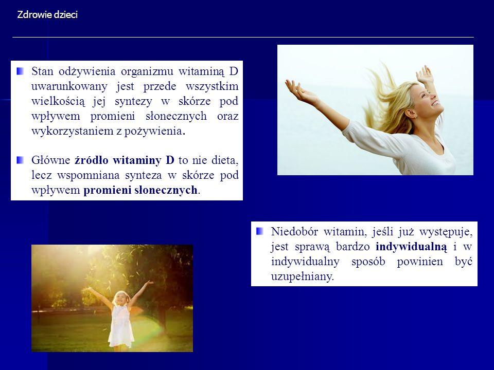 Niedobór witamin, jeśli już występuje, jest sprawą bardzo indywidualną i w indywidualny sposób powinien być uzupełniany. Stan odżywienia organizmu wit