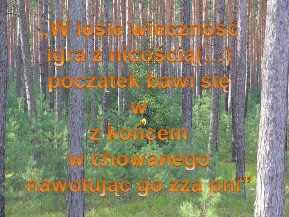 """""""Wysokie drzewa Leopold Staff"""