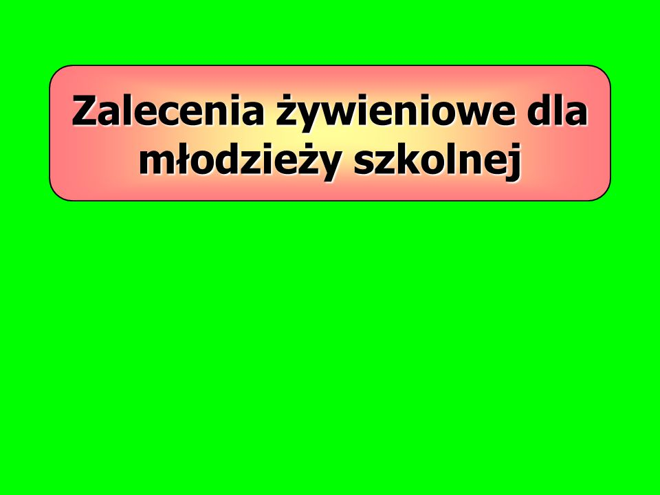 Programy edukacyjne mogą wpłynąć na poprawę zdrowia Polaków poprzez przenoszenie nabytych w młodości nawyków żywieniowych w dorosłe życie.