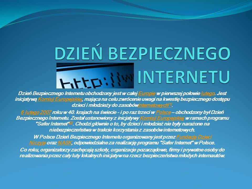 HISTORIA INTERNETU Początki Internetu wiążą się z powstaniem sieci rozległej ARPANET i sięgają końca lat 60.