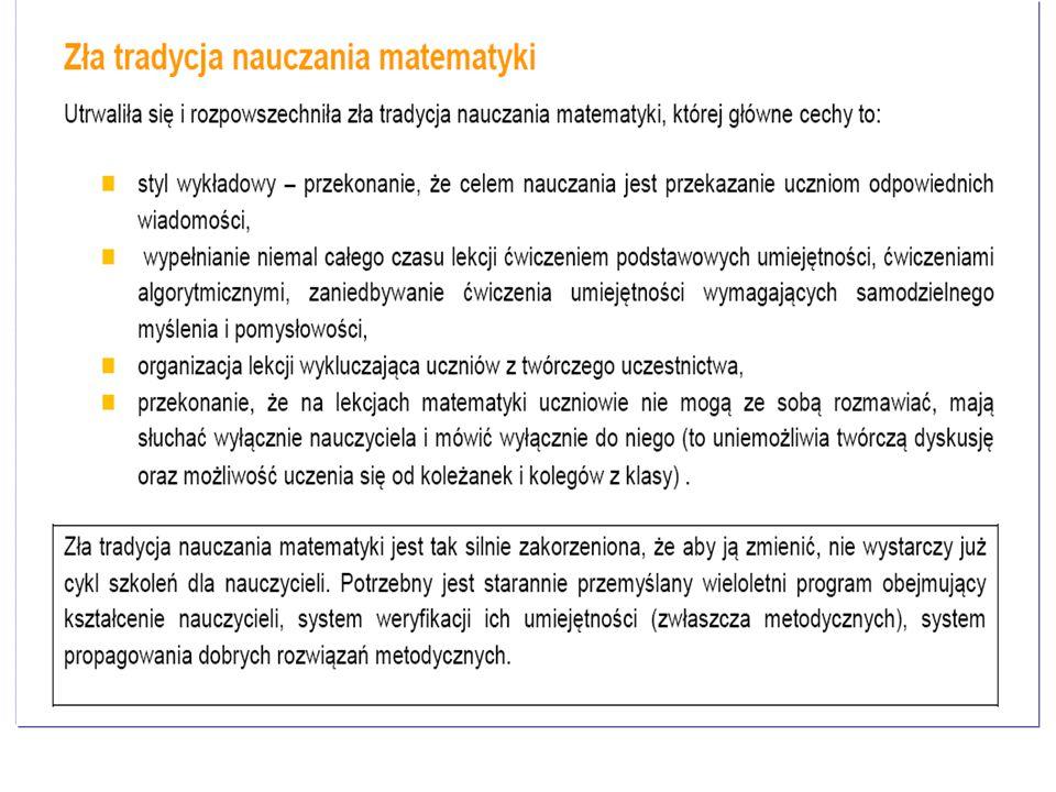 Materiał współfinansowany ze środków Unii Europejskiej w ramach Europejskiego Funduszu Społecznego. Wyniki z badań IBE