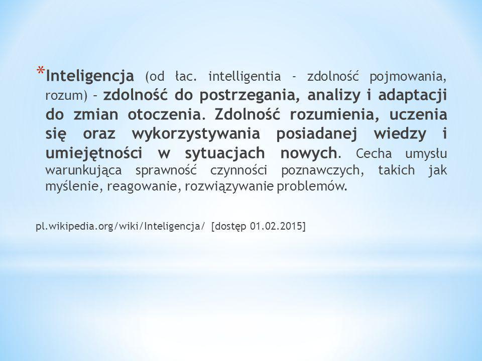 """* Elementy decydujące o """"inteligencji w systemie CSO * 3."""