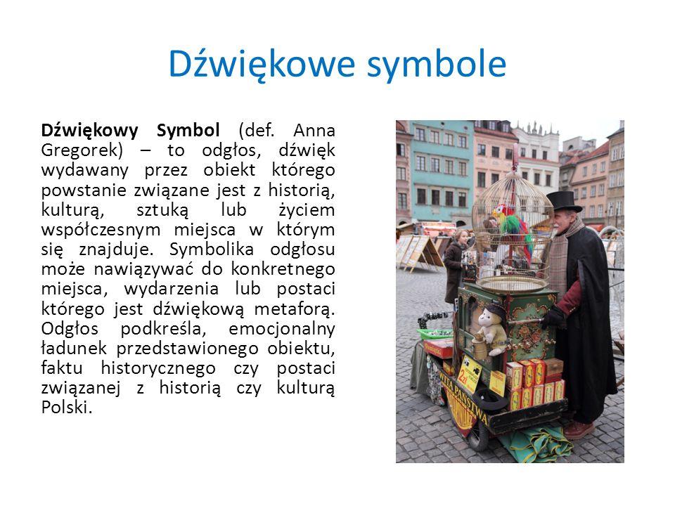 Dźwiękowe symbole Dźwiękowy Symbol (def.