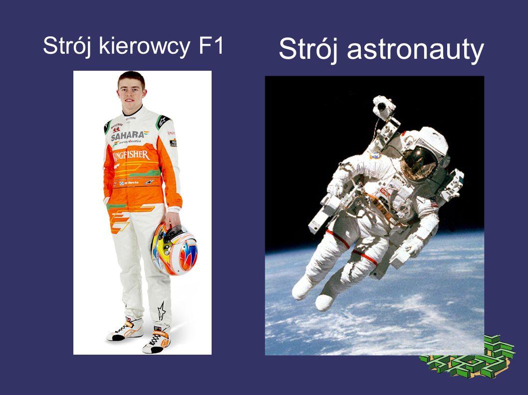 Strój kierowcy F1 Strój astronauty