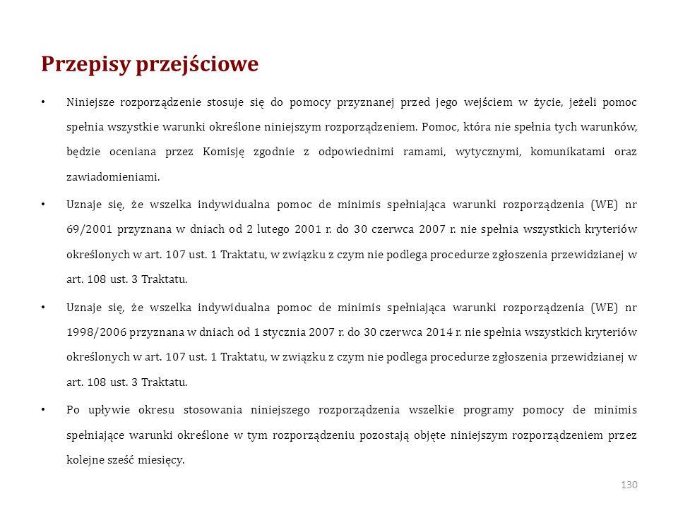 Nowy de minimis w rolnictwie ROZPORZĄDZENIE KOMISJI (UE) NR 1408/2013 z dnia 18 grudnia 2013 r.
