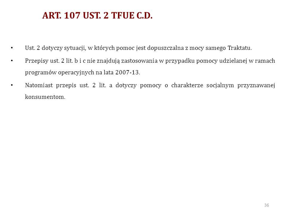 ART.107 UST. 3 TFUE 3.