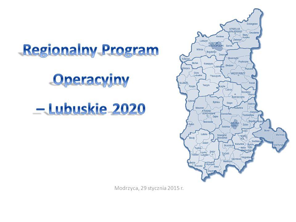 Wsparcie rozwoju przedsiębiorczości i szkolnictwa zawodowego jest jednym z głównych celów SRWL 2020 Cel strategiczny : 1.