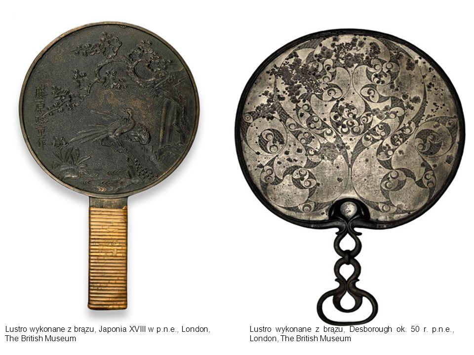 Lustro wykonane z brązu, Egipt, ok.2040 – 1750 r.