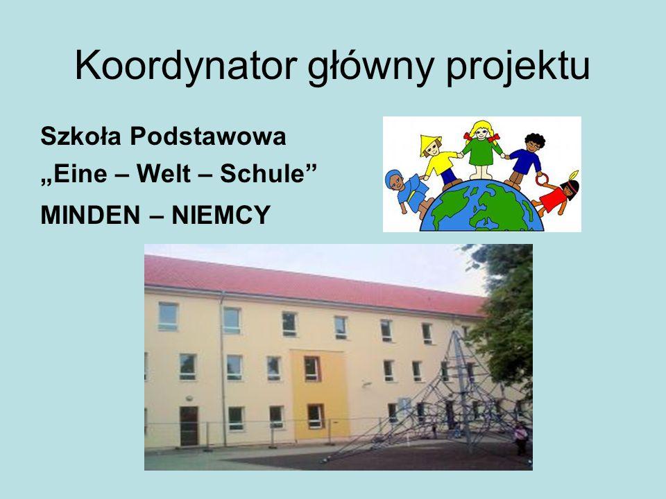 """Koordynator główny projektu Szkoła Podstawowa """"Eine – Welt – Schule"""" MINDEN – NIEMCY"""