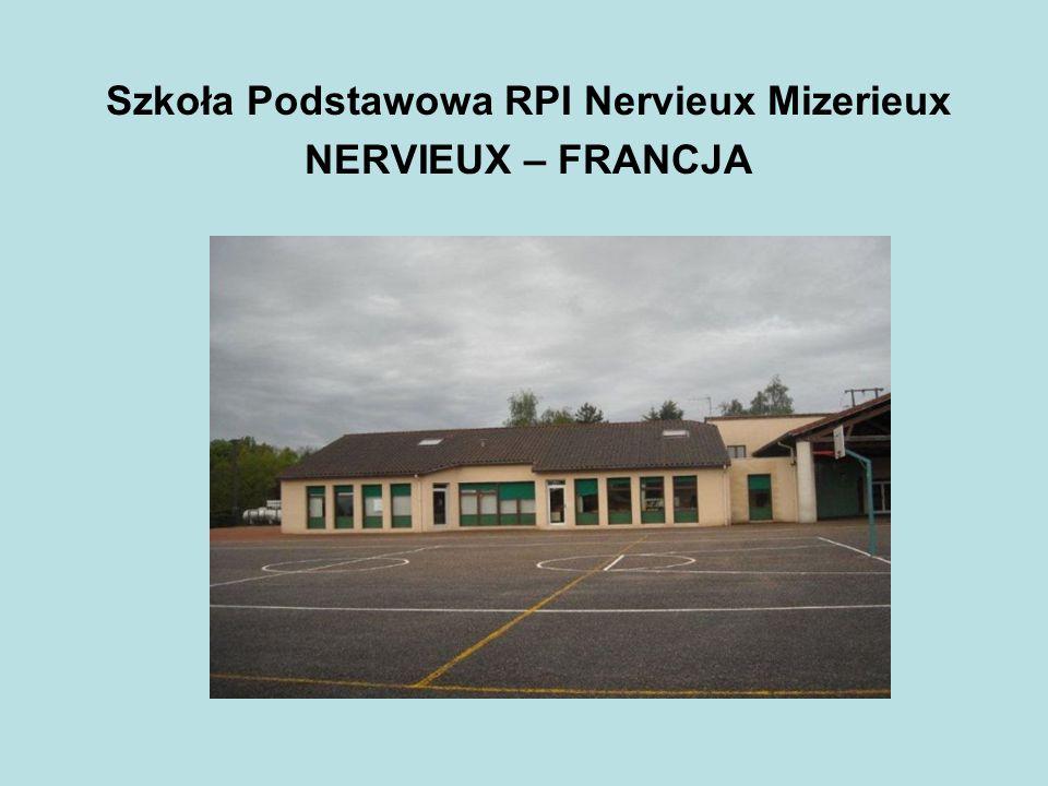Szkoła Podstawowa RPI Nervieux Mizerieux NERVIEUX – FRANCJA