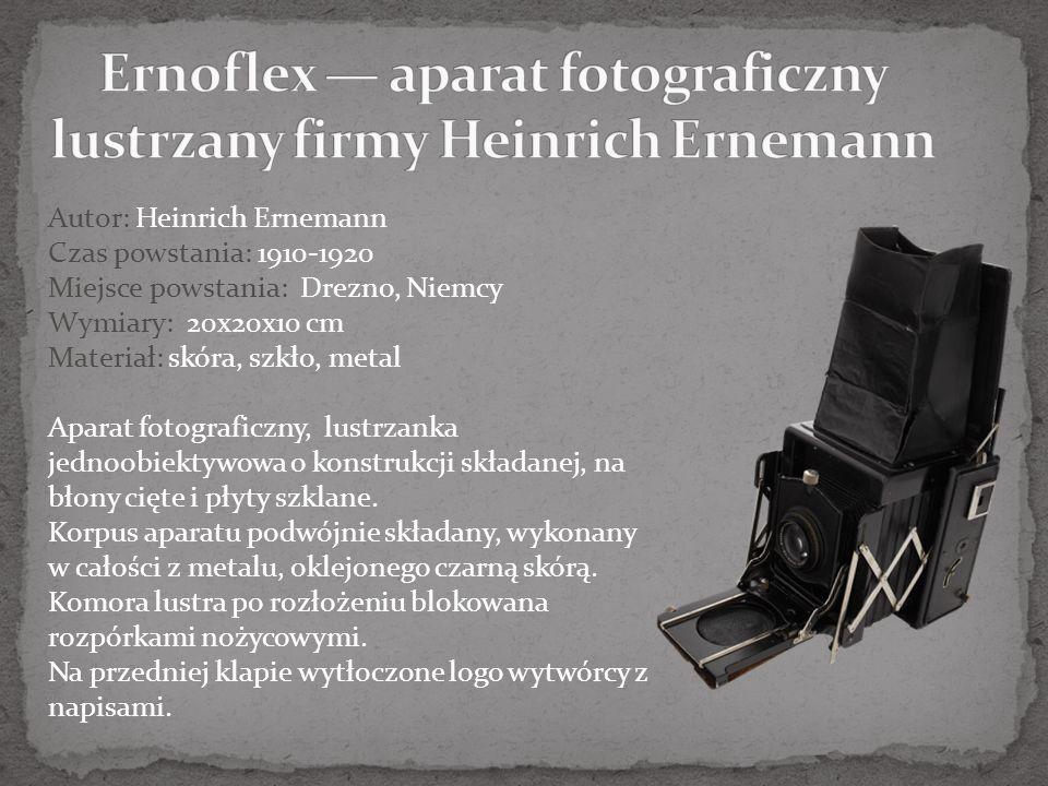 Prawa do wszystkich przedstawionych obiektów należą do MUZEUM HISTORII FOTOGRAFII im.