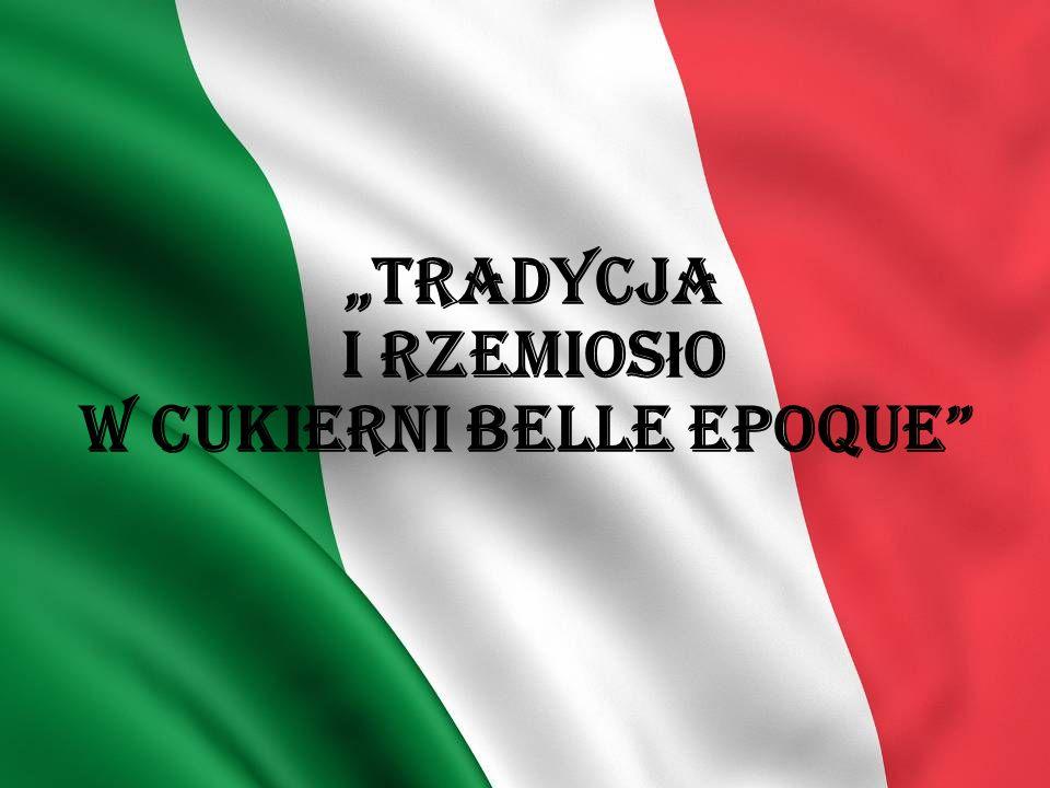 Zak ł ad Belle Epoque Nasz sta ż odby ł y ś my w cukierni Belle Epoque, która znajdowa ł a si ę w Rimini.