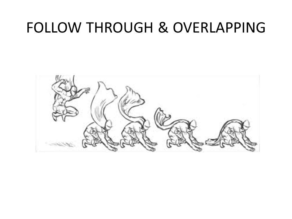 FOLLOW THROUGH & OVERLAPPING