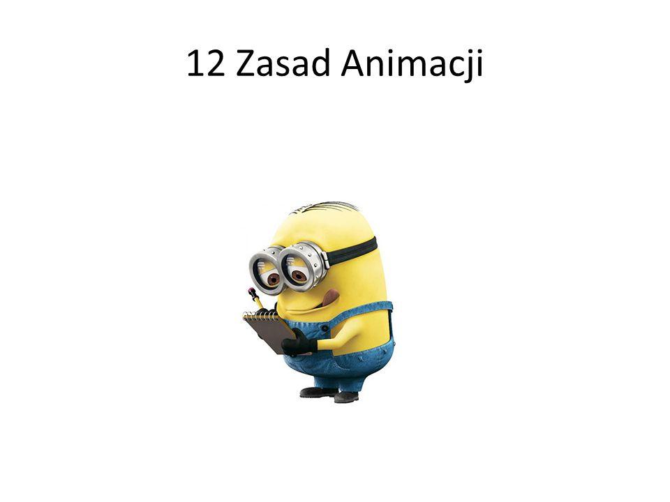 12 Zasad Animacji