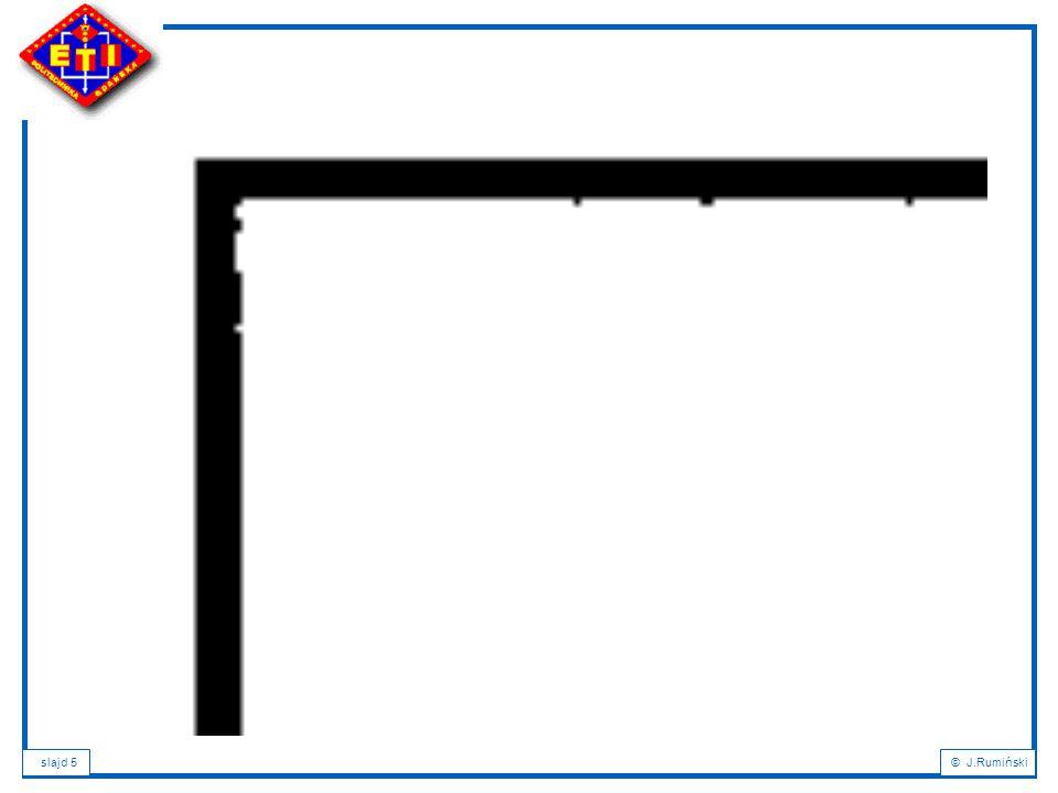 slajd 26© J.Rumiński Klucze Każdy podzbiór SK (superkey, superklucz) atrybutów relacji R, taki że dla każdych dwóch krotek k relacji R: k1(SK)<>k2(SK) jest nazywany superkluczem (nadkluczem) relacji R.
