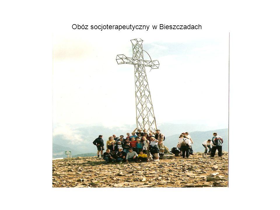Obóz socjoterapeutyczny w Bieszczadach