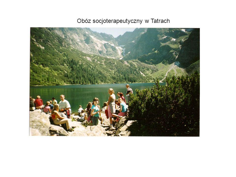 Obóz socjoterapeutyczny w Tatrach