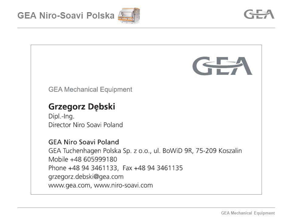 GEA Mechanical Equipment GEA Tuchenhagen Polska Sp.