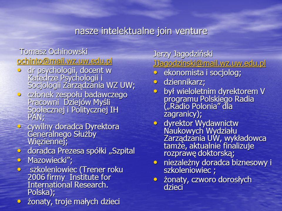 warunki zaliczenia (proste i łatwe jak…) 1.