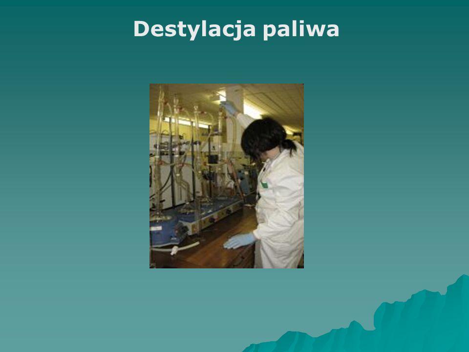 Destylacja paliwa