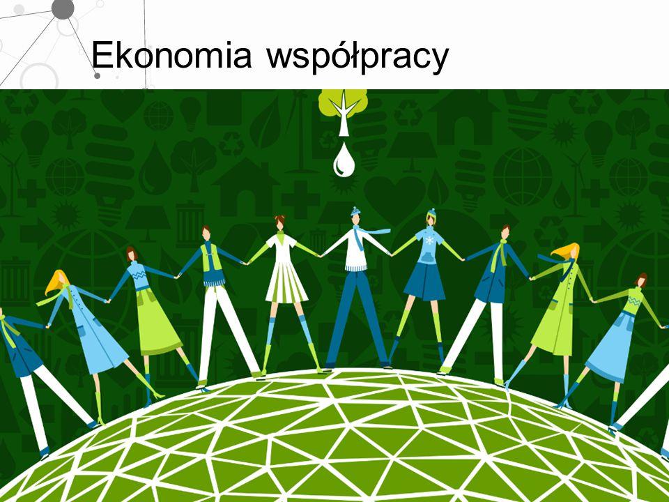 """Ekonomia współpracy Ekonomia współpracy – tworzenie rozproszonych sieci wsparcia """"Nowa przedsiębiorczość społeczna """"Nowy ekosystem – Toronto – MaRS, Parę funduszy SVC, sieci SVP, Center for Social Innovation, SoJo"""