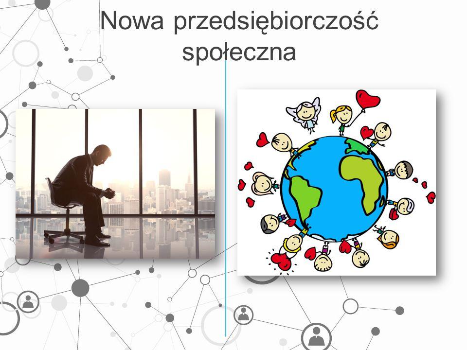 Nowa przedsiębiorczość społeczna