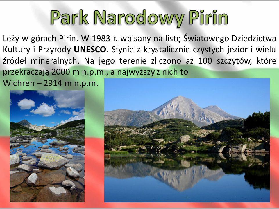 Obejmuje łagodny masyw górski Witoszy, z najwyższym szczytem Czerny Wrych (2290 m n.p.m.).