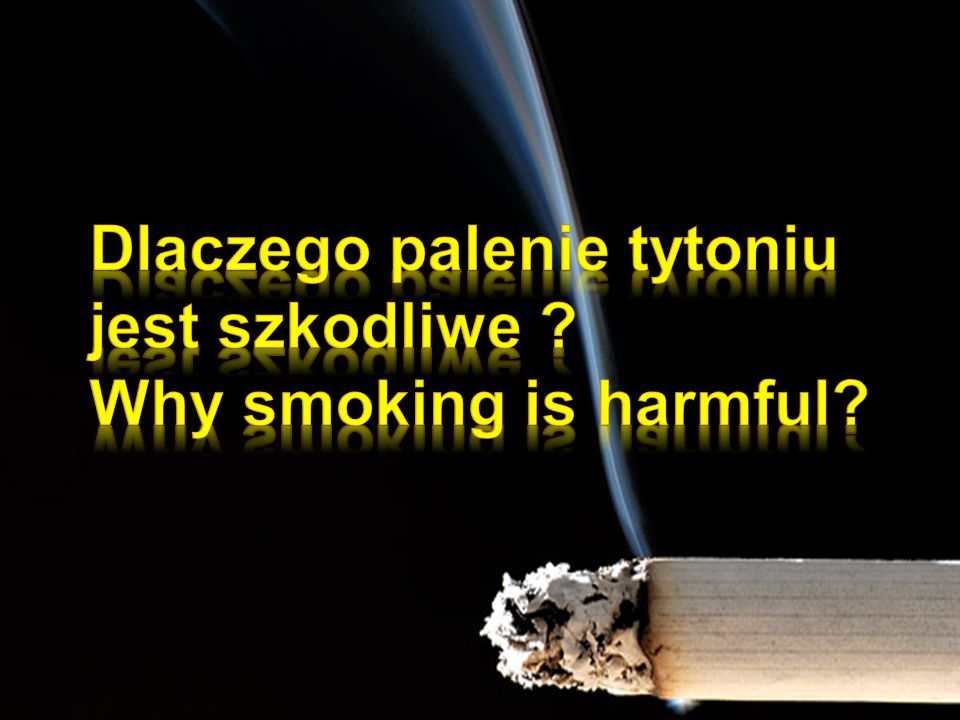 Smoking is the cause of almost 4 million deaths per year.