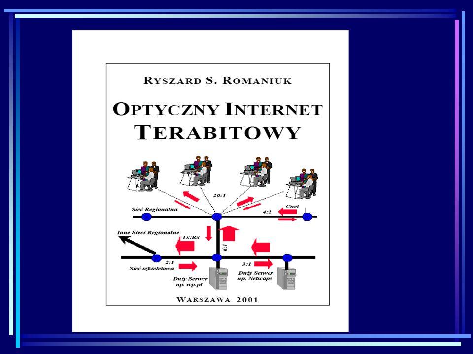 Źródła zakłóceń w systemach transmisji światłowodowej Szum nadajnika (DL) 1.