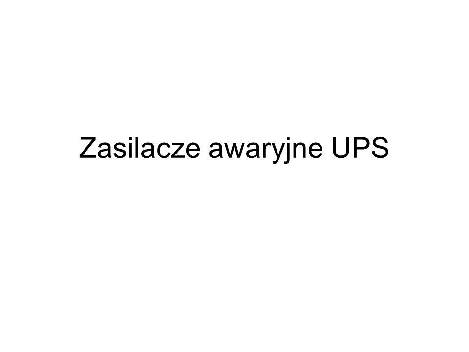 Zasilacze awaryjne UPS