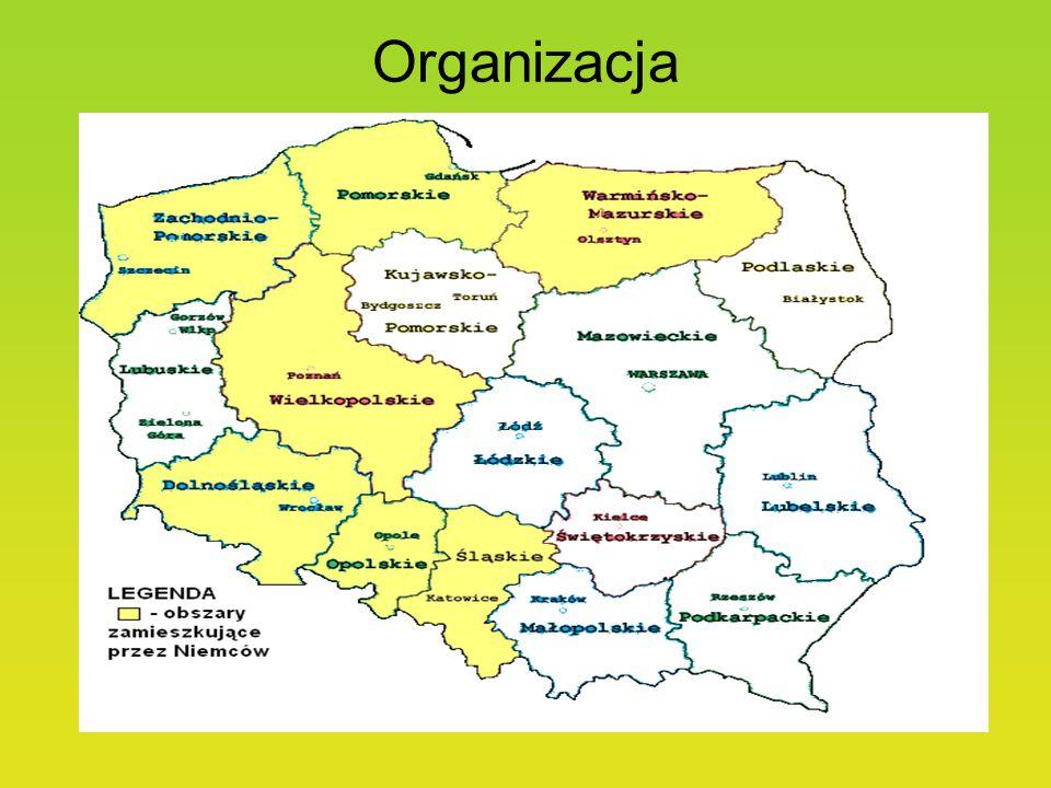 RejonLiczba ludnościLiczba NiemcówOdsetek Polska38 230 080152 8970,4 województwo dolnośląskie2 907 2122 1580,074 województwo kujawsko-pomorskie2 069 3