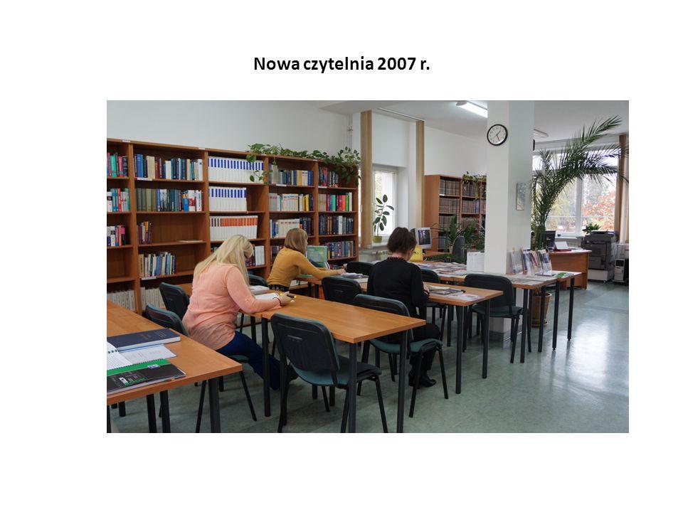 Nowa czytelnia 2007 r.