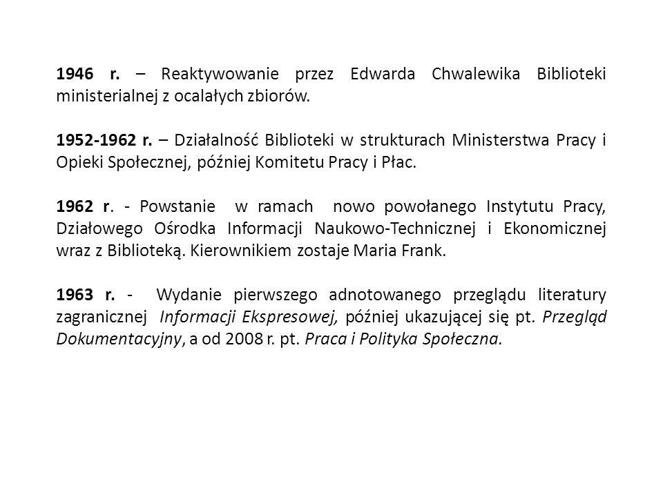 1993 r.- Organizowanie stoiska MOP na Międzynarodowych Targach Książki w Warszawie.