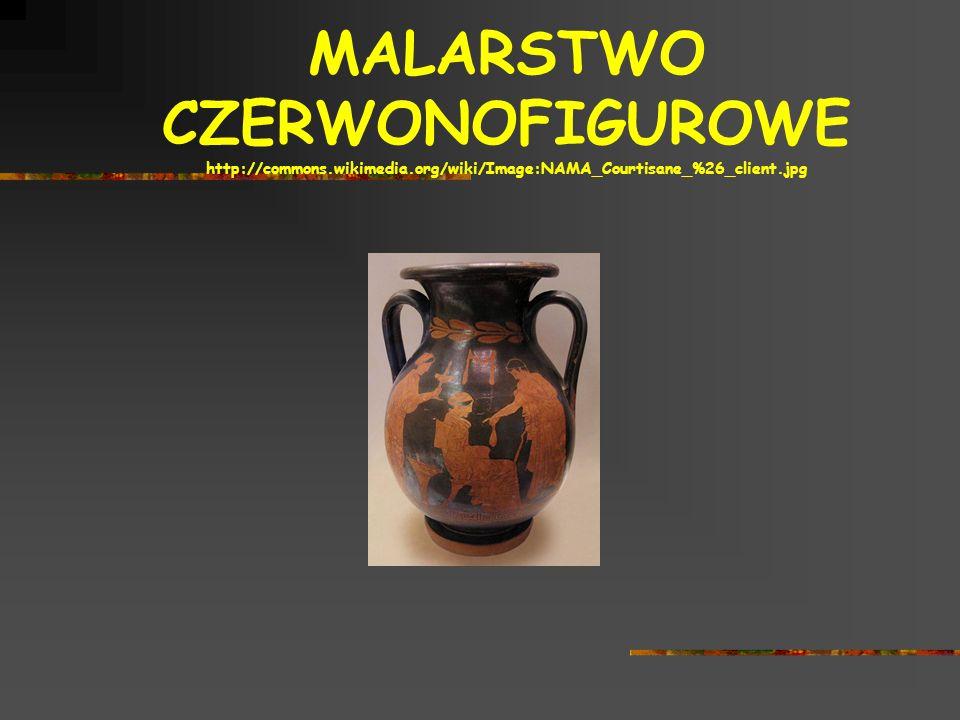 MALARSTWO CZERWONOFIGUROWE http://commons.wikimedia.org/wiki/Image:NAMA_Courtisane_%26_client.jpg