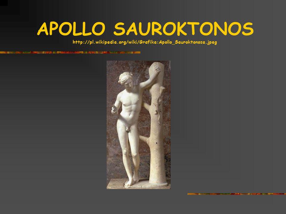 APOLLO SAUROKTONOS http://pl.wikipedia.org/wiki/Grafika:Apollo_Sauroktonosa.jpeg