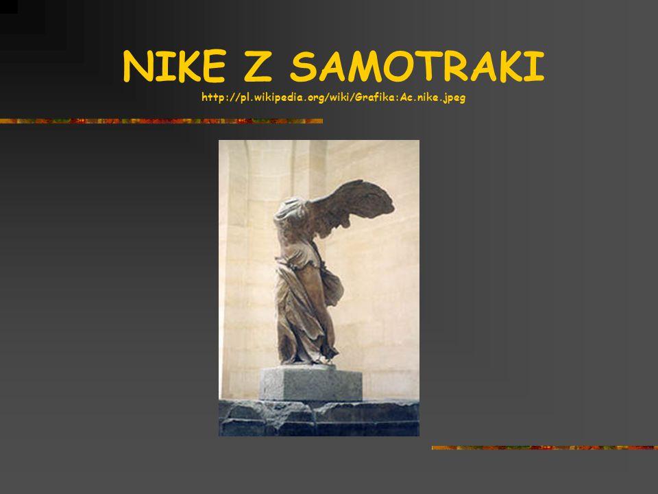 NIKE Z SAMOTRAKI http://pl.wikipedia.org/wiki/Grafika:Ac.nike.jpeg