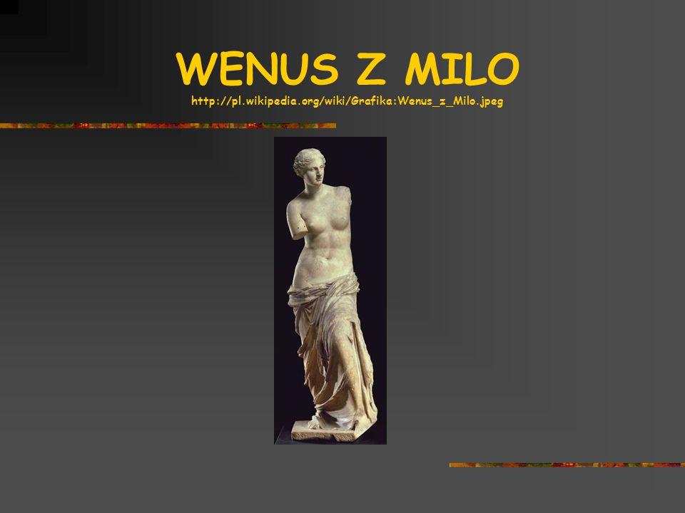 WENUS Z MILO http://pl.wikipedia.org/wiki/Grafika:Wenus_z_Milo.jpeg