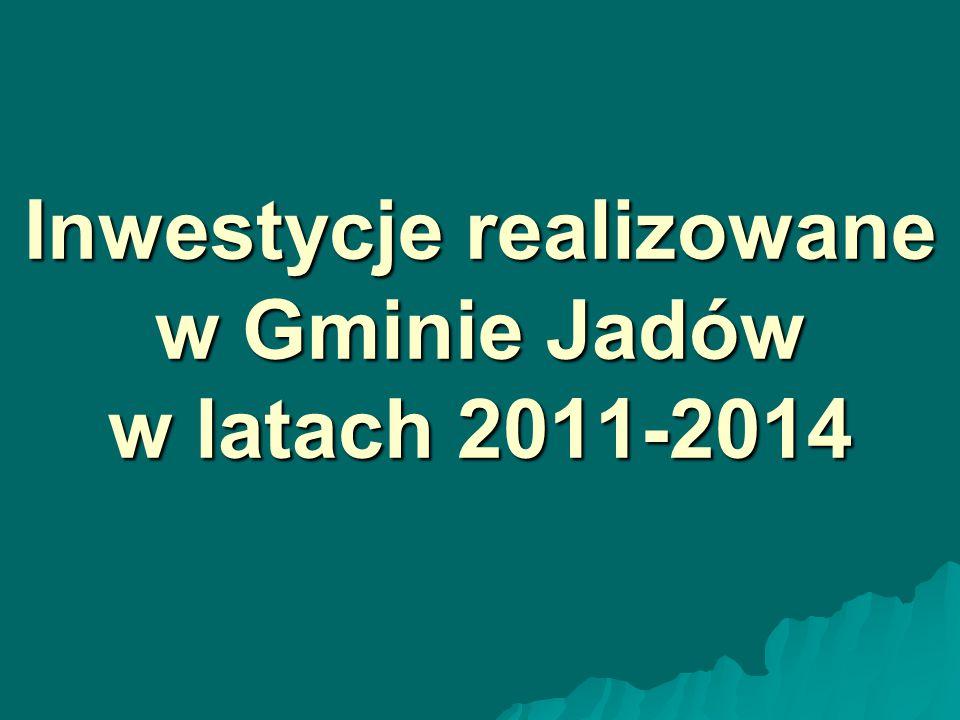 Zagospodarowanie centrum miejscowości Jadów 11.09.2012r.