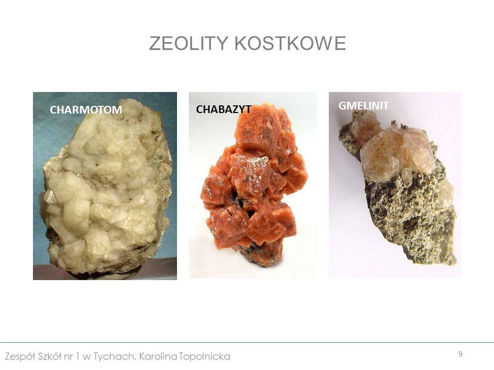 Zeolity znalazły olbrzymie zastosowanie w różnych dziedzinach nauki.