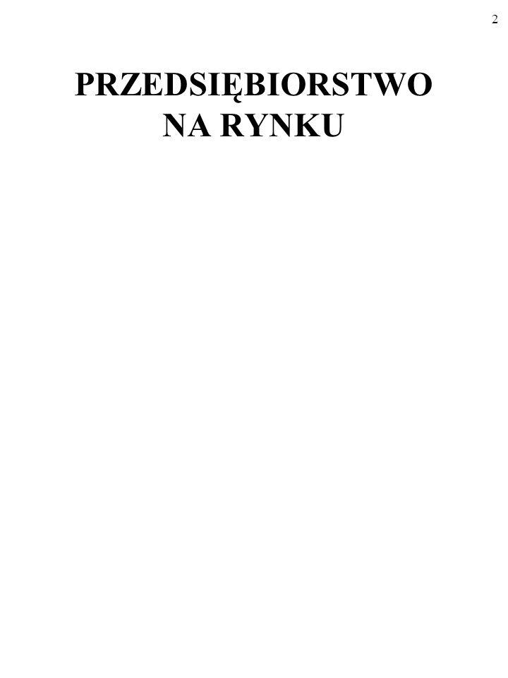 72 KOSZTY PRZEDSIĘBIORSTWA A FORMA RYNKU AC = h(Q) Oto rynek z ogromnymi korzyściami skali.