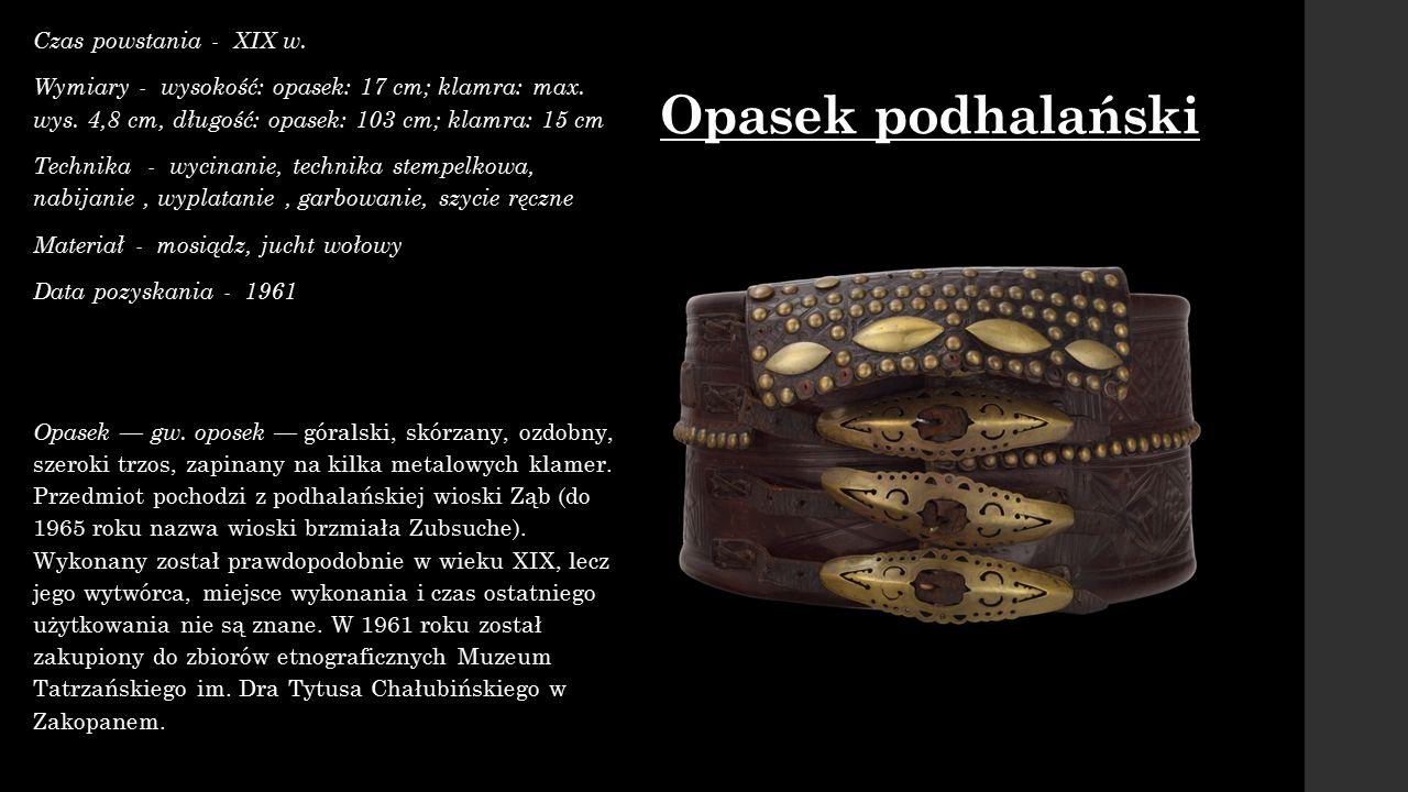 Żydowska obrączka ślubna Czas powstania - XIX/XX w.